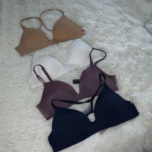 Set of 4 Victoria's Secret T-shirt bras